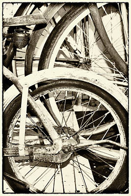 Photograph - Bicycles by Jeanne Hoadley