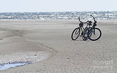 Photograph - Bicycles On The Beach by Kevin McCarthy