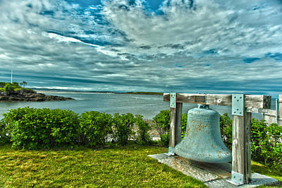 Art Print featuring the photograph Biddeford Pool Bell by Brenda Jacobs