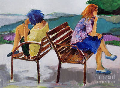 Painting - Biding Time by Diane Ursin