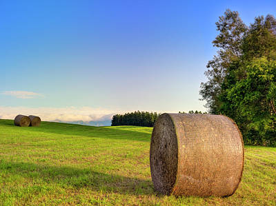 Scenery Photograph - Biei, Hokkaido Japan by Photo By Johnny Ngai