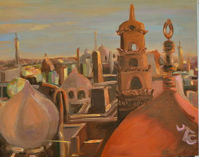 Painting - Bienvenue Au Caire by Julie Todd-Cundiff