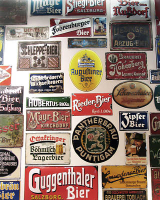 Photograph - Bier Wall by Bethany Hacker