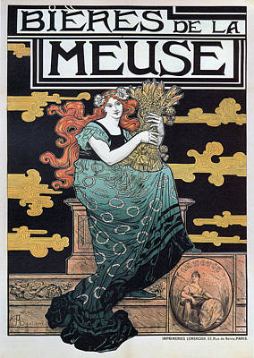 Painter Mixed Media - Bieres De La Meuse by Charlie Ross