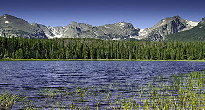 Bierstadt Lake Art Print by Tom Wilbert