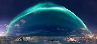 Photograph - Bifrost by Sigurdur William Brynjarsson