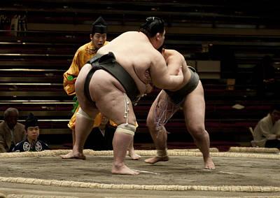 Photograph - Big And Not So Big by Masami Iida