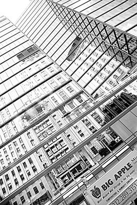 Photograph - Big Apple Architecture by Valentino Visentini