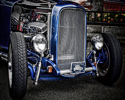 Big Bad Ford Print by Ron Roberts
