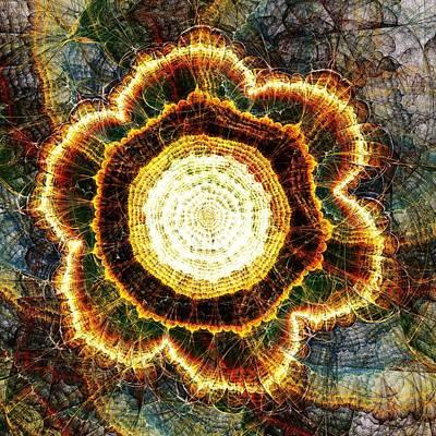 Cosmological Mixed Media - Big Bang by Anastasiya Malakhova