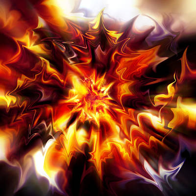 Digital Art - Big Bang by Selke Boris