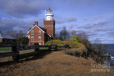 Photograph - Big Bay Point Lighthouse - Fs000622 by Daniel Dempster