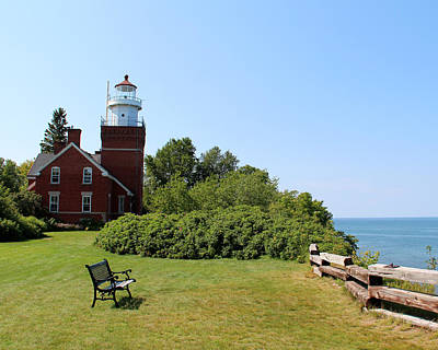 Photograph - Big Bay Point Lighthouse by George Jones