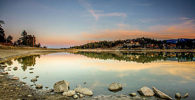 Art Print featuring the photograph Big Bear Lake by Robert  Aycock