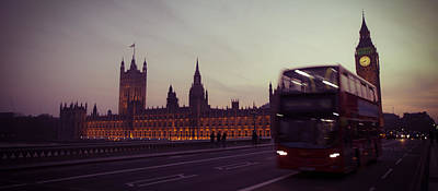 Traffic Photograph - Big Ben - London by Thomas Richter