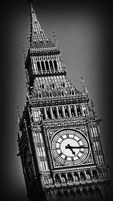 Historic Architecture Photograph - Big Ben 1 by Stephen Stookey