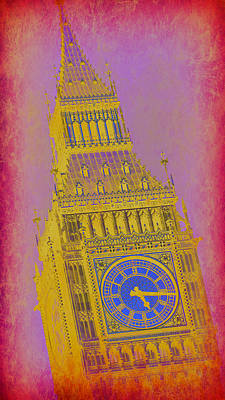 London Skyline Photograph - Big Ben 10 by Stephen Stookey