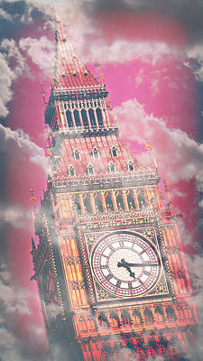 London Skyline Royalty-Free and Rights-Managed Images - Big Ben 12 by Stephen Stookey