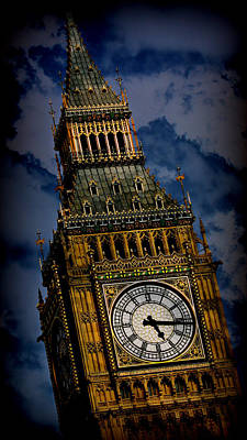 Citiscapes Photograph - Big Ben 5 by Stephen Stookey