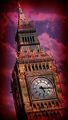 London Skyline Photograph - Big Ben 6 by Stephen Stookey