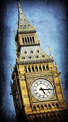Citiscapes Photograph - Big Ben 7 by Stephen Stookey