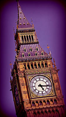 London Skyline Royalty-Free and Rights-Managed Images - Big Ben 8 by Stephen Stookey