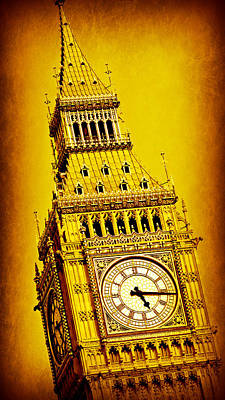 London Skyline Royalty-Free and Rights-Managed Images - Big Ben 9 by Stephen Stookey