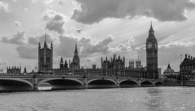 Photograph - Big Ben And Parliament by Brian Grzelewski