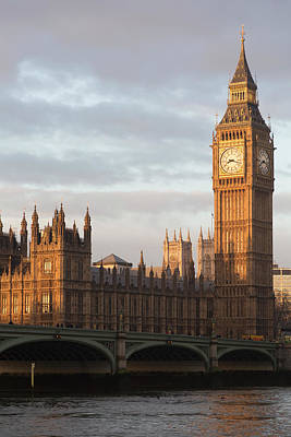 Photograph - Big Ben And The Houses Of Parliament by Chris Mellor