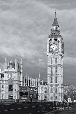 Photograph - Big Ben And Westminster Bridge II by Clarence Holmes