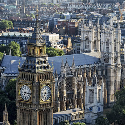 Photograph - Big Ben And Westminster by Ron Grafe