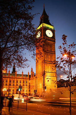 Photograph - Big Ben At Night by Celso Diniz