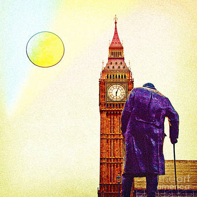 London Mixed Media - Big Ben In London by Celestial Images