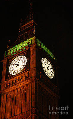 Photograph - Big Ben In London by Doc Braham