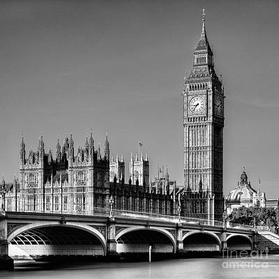 Big Ben Wall Art - Photograph - Big Ben by John Farnan