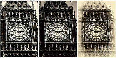 Photograph - Big Ben by John Rizzuto