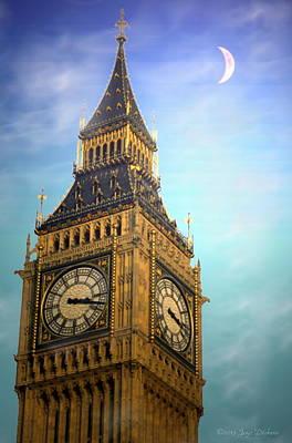 Friendly Digital Art - Big Ben by Joyce Dickens
