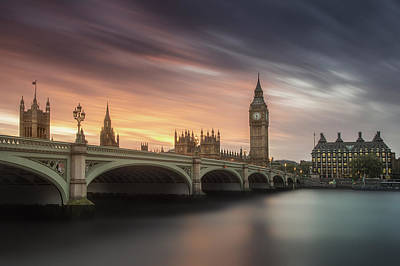 Big Ben Wall Art - Photograph - Big Ben, London by Artistname