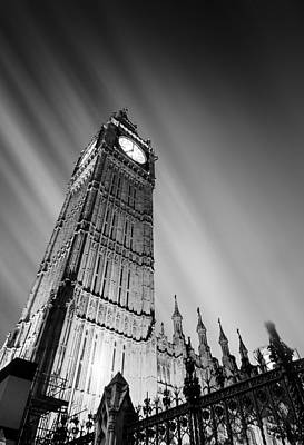 Big Ben Wall Art - Photograph - Big Ben London by Ian Hufton