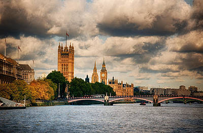 Photograph - Big Ben London  by Lenny Carter
