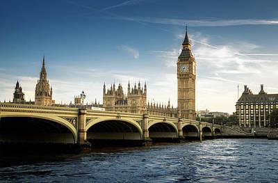 Big Ben, London Art Print by Tangman Photography