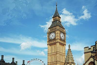 Big Ben, London, Uk Art Print by Richgreentea