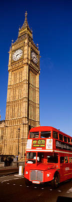 U.k Photograph - Big Ben, London, United Kingdom by Panoramic Images