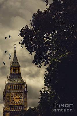 Big Ben Print by Margie Hurwich