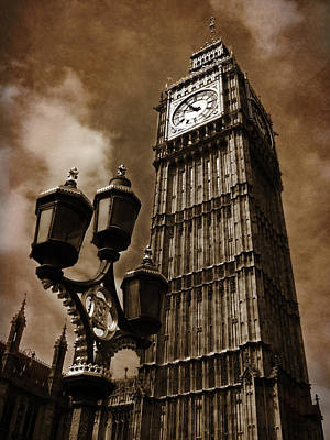 Big Ben Photograph - Big Ben by Mark Rogan