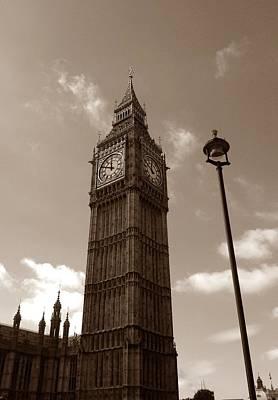 Victoria Embankment Photograph - Big Ben by Steve K