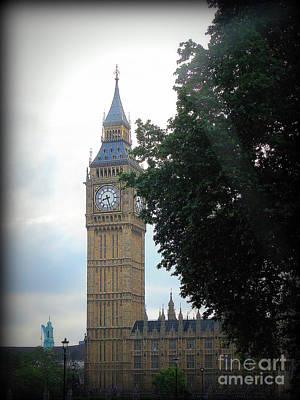 Photograph - Big Ben by Priscilla Richardson
