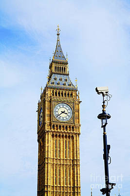 Photograph - Big Ben Security by Diane Macdonald