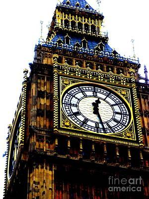 Big Ben Art Print by Sophia Elisseeva