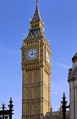 Art Print featuring the photograph Big Ben by Stephen Anderson